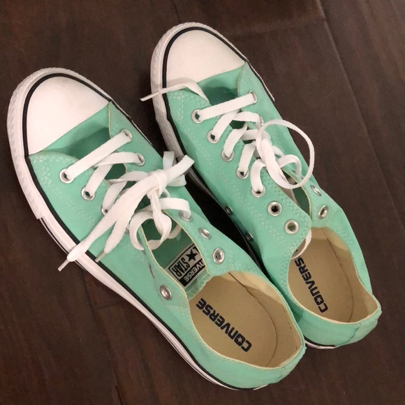 65b73ffe924b Converse Shoes - Converse All Star mint color shoes